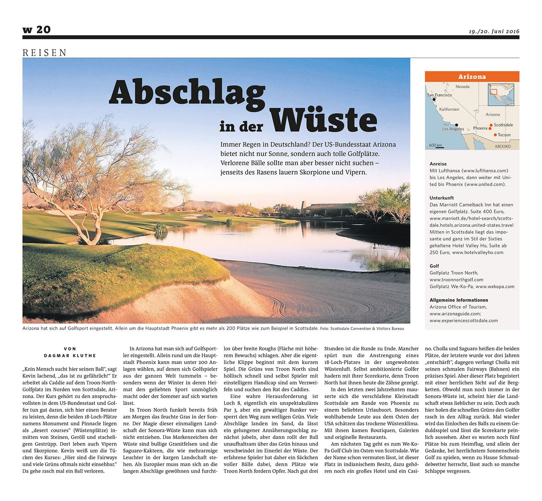 Voque Artikel Arizona